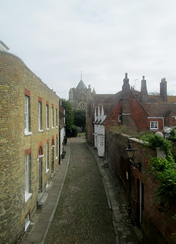 View from Lamb House, Rye