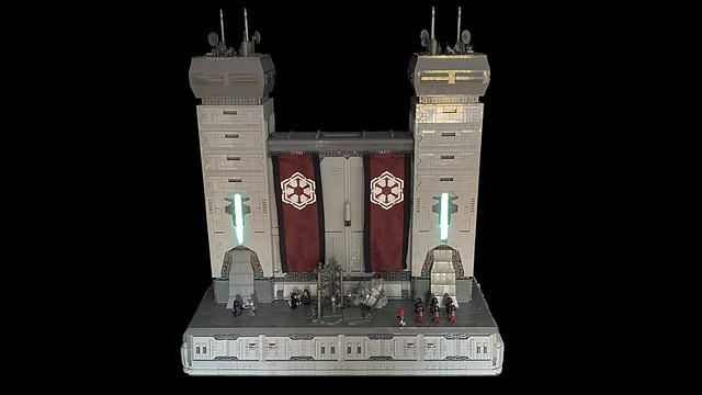 LEGO Star Wars The Old Republic MOC | The Rise of Empire on Dromund Kaas | SWTOR MOC