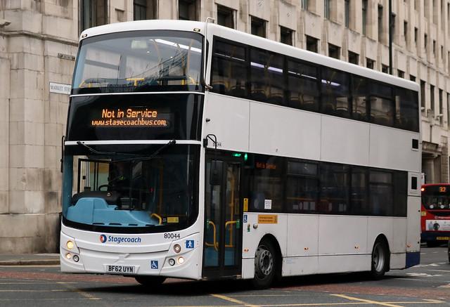 Stagecoach: 80044 BF62UYN Volvo B9TL/MCV