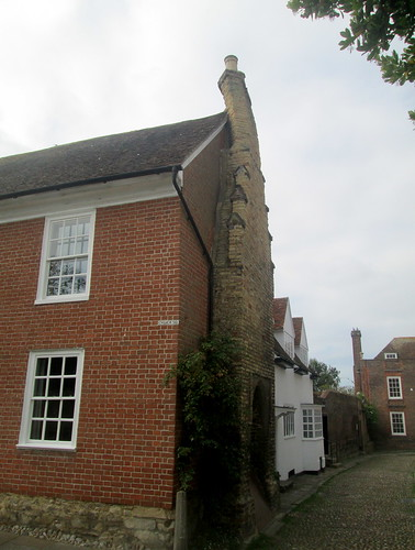Rye, Twisted Chimney, Reverse View