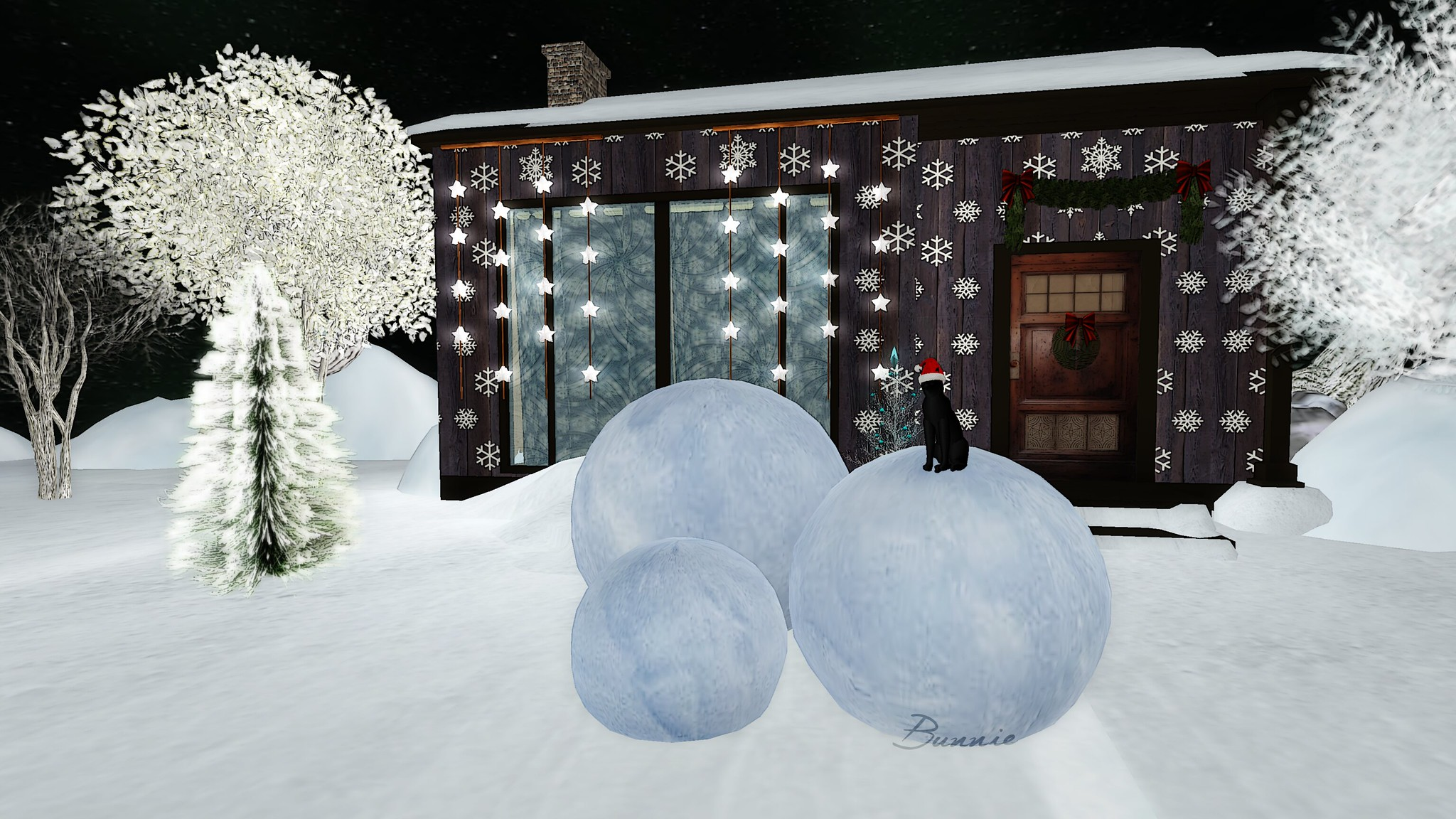 Fabfree Post:Winter Isle