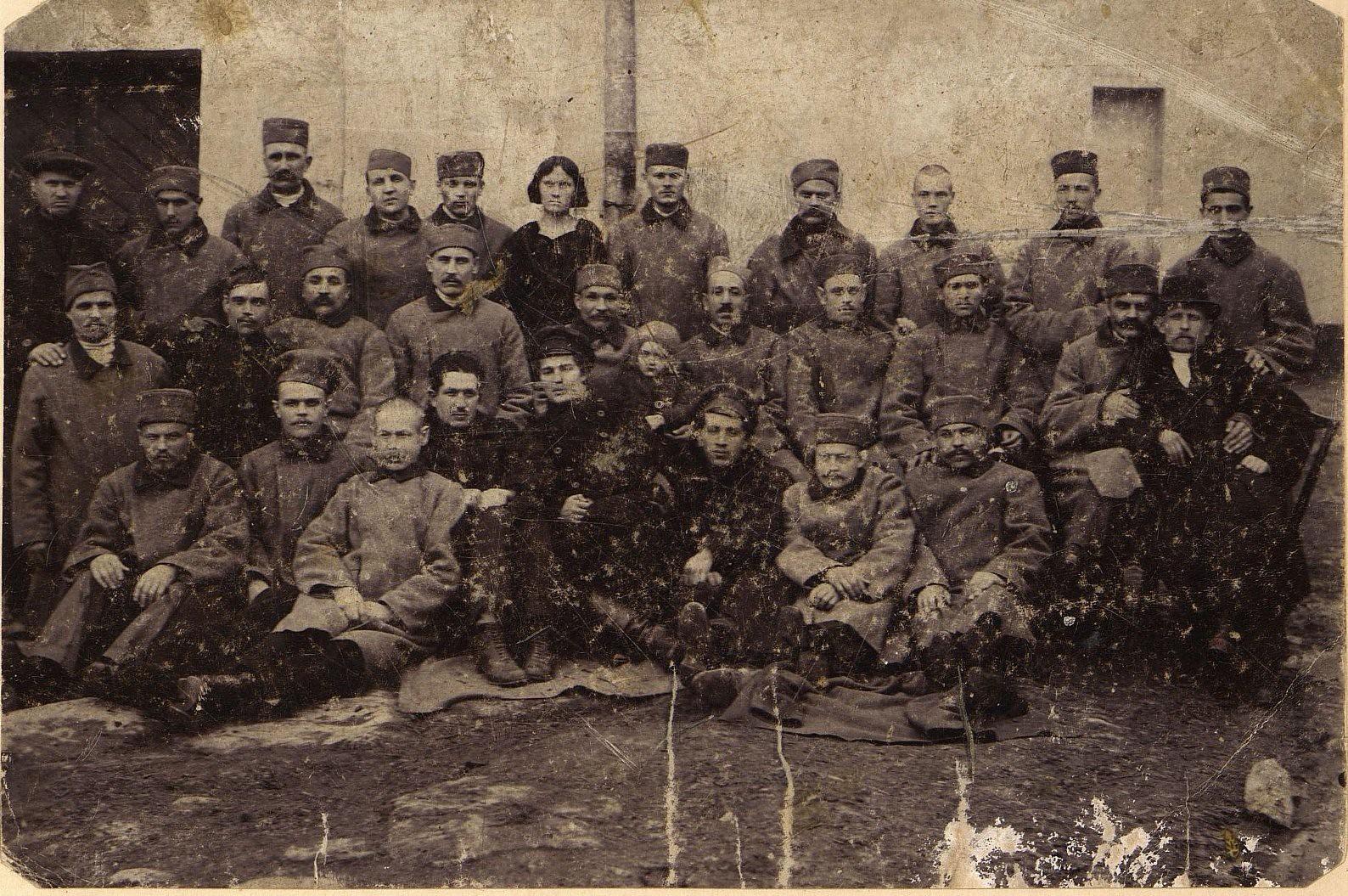 08. Февраль. Политические заключённые, освобождённые из Николаевской тюрьмы во время Февральской революции