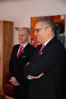 201122-012a Jubilaris Raoul Bessems, 25 jr