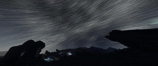 Star Citizen   Lyria Terrain feat. Carrack