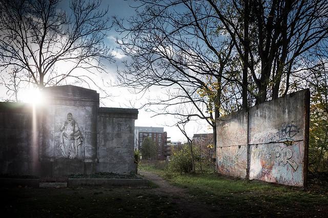Berlin: Liesenstraße / Friedhöfe an der Liesenstraße