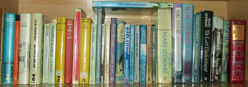 'S' Bookshelf, Katrina's books