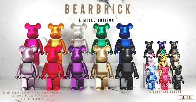 NEW RELEASE - BEARBRICK !!! 🔥🔥🔥