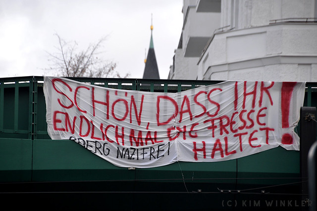 "22. November 2020 - Verschwörungsideologischer ""Schweigemarsch"" in Berlin"