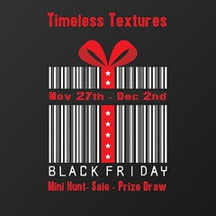 2020 Black Friday Sale Mini Hunt Prize Draw Timeless Textures