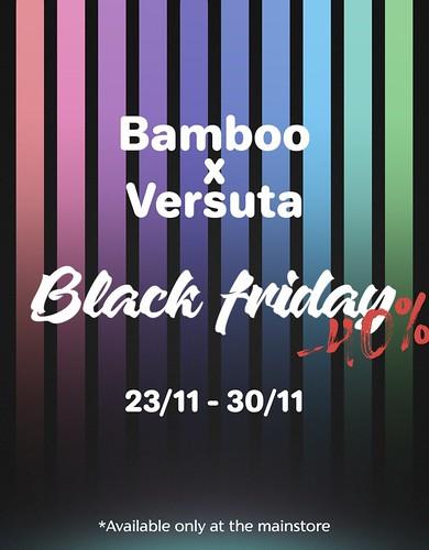 VERSUTA x BLACK FRIDAY!