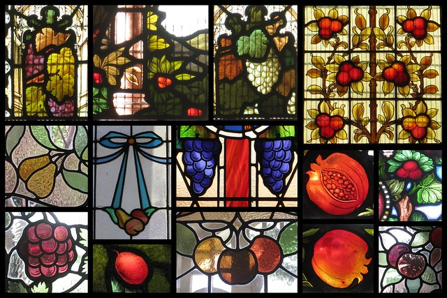 An Orchard of Stained Glass Fruit