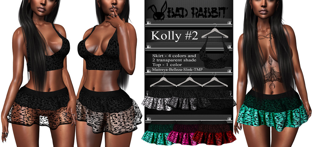 .:Bad Rabbit:. Kolly#2 Skirt, Top
