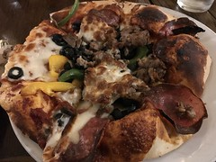 Taratata pizza at Dancing Fox in Lodi