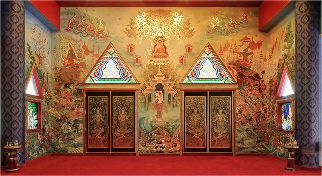 Lord Buddha's Struggle Against Mara