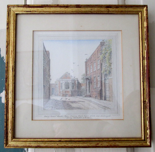 Painting of Lamb House, Rye