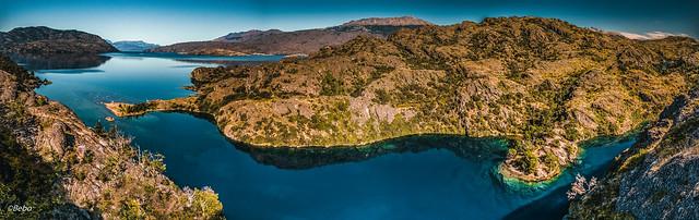 Lago y Rio Cochrane (Cochrane Lake and River)