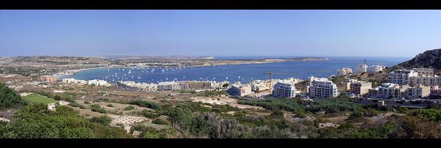 Mellieħa Bay Panorama