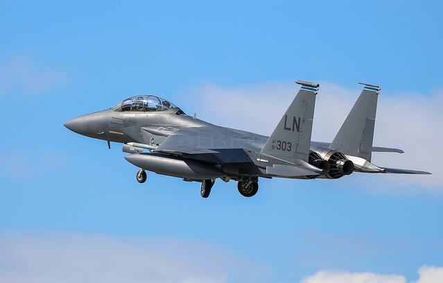 492nd FS F-15e