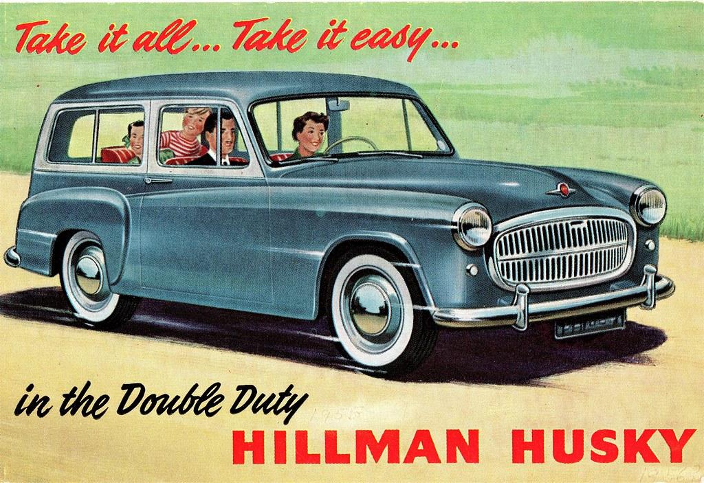1957 Hillman Husky