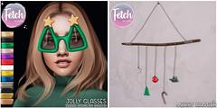 [Fetch] Jolly Glasses & Merry Hanger @ Tannenbaum