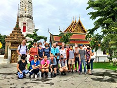 Another rainy Sunday morning, another great group for our monthly #urbanhike around #bangkok