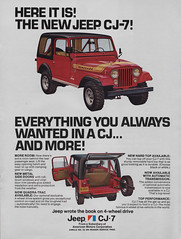 1976 Jeep CJ-7 Ad