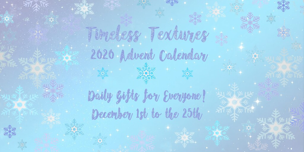 2020 Advent Calendar Timeless Textures V2