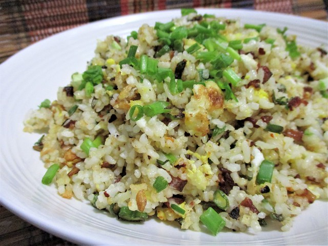 Bacon and egg fried rice 2