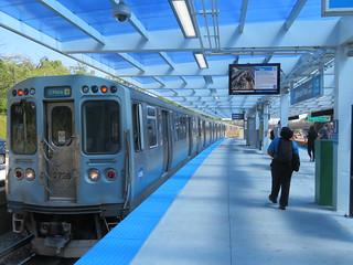 Renovated Jefferson Park CTA Station