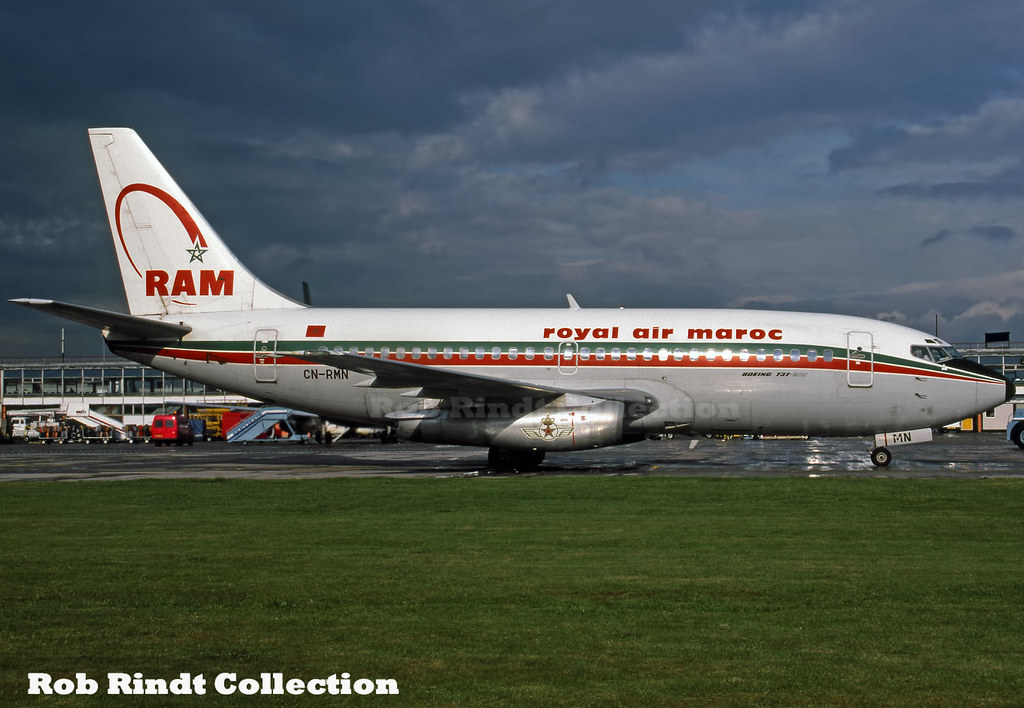 Royal Air Maroc B737-2B6/Advanced CN-RMN