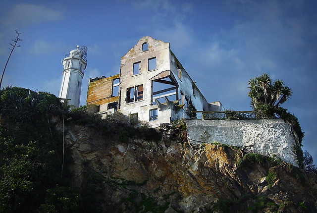 Warden's House ruins