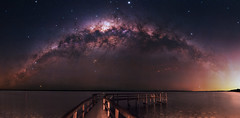 Milky Way at Lake Clifton, Western Australia