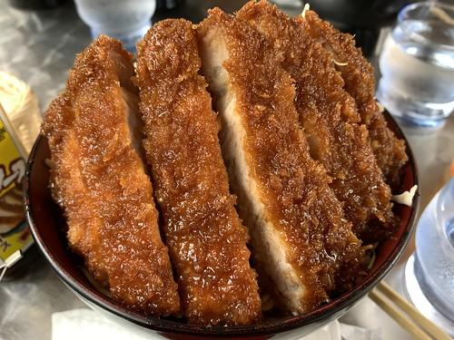 明治亭さんのソースカツ丼