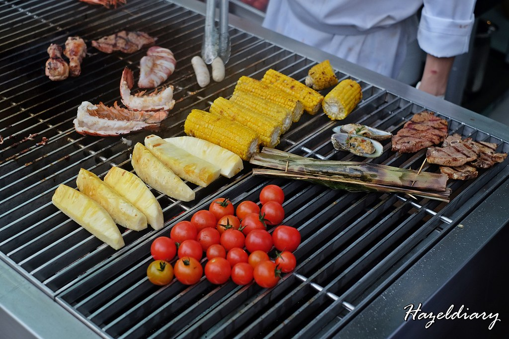 Food Capital At Grand Copthorne Waterfront Hotel-BBQ