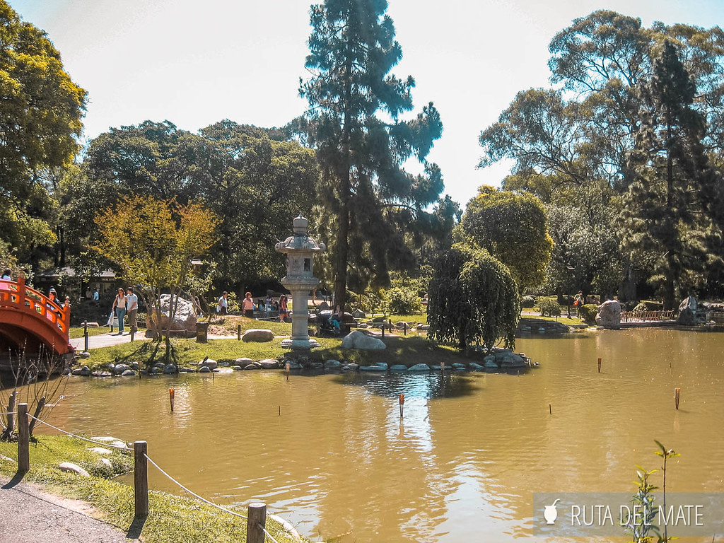 Jardín Japonés, en Palermo