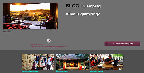 """The """"What is Glamping?"""" blog investigates those elements that are prevalent glamping spaces & glamping expreiences, and are essential to make glamping what it is."""