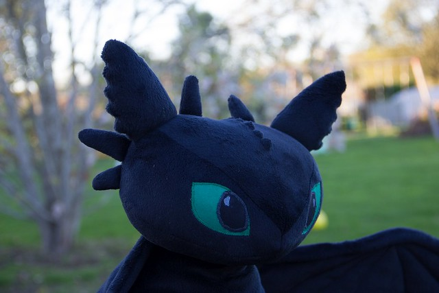 HTTYD Tootheless Plush - head
