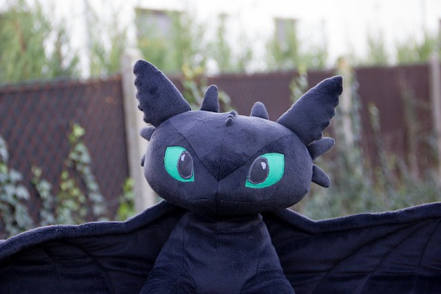 HTTYD Tootheless Plush - front detail