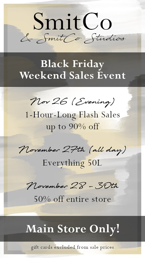 SmitCo Black Friday Weekend Sales Event
