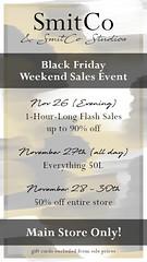 SmitCo Black Friday Weekend Sales Event