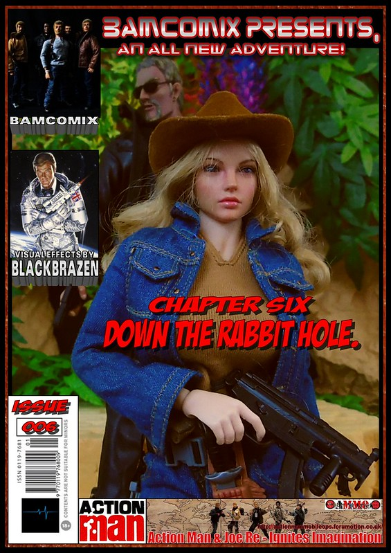 BAMComix Presents - Chapter Six - Down the rabbit hole. 50636734373_6fa12f157a_c