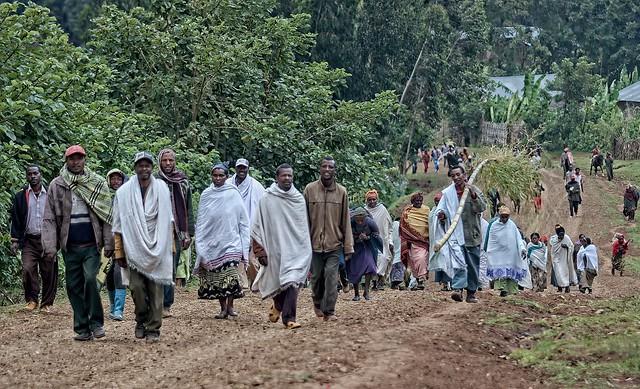 Ethiopia - Chencha - Funeral