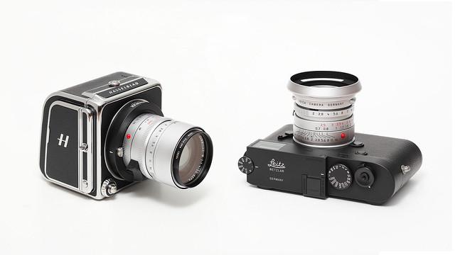 Hasselblad 907X and Leica M10 Monochrom Leitz Wetzlar Edition