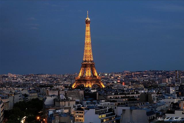 Vu de l'Arc de Triomphe.