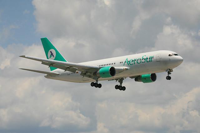 CP-2521, Boeing 767-260(ER) Aerosur @ Miami MIA KMIA