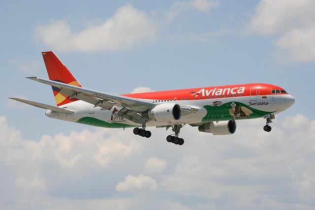 N988AN, Boeing 767-284(ER) Avianca Colombia @ Miami MIA KMIA
