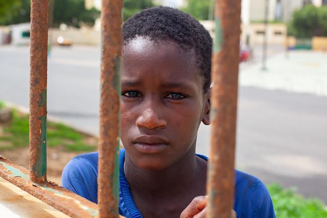 Street Portrait, Dakar Grand Portrait