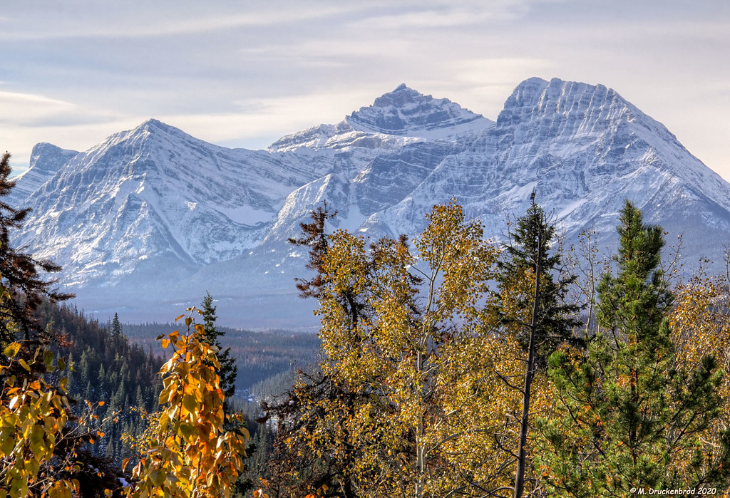 The Athabasca Pass, Icefields Parkway in Jasper National Park