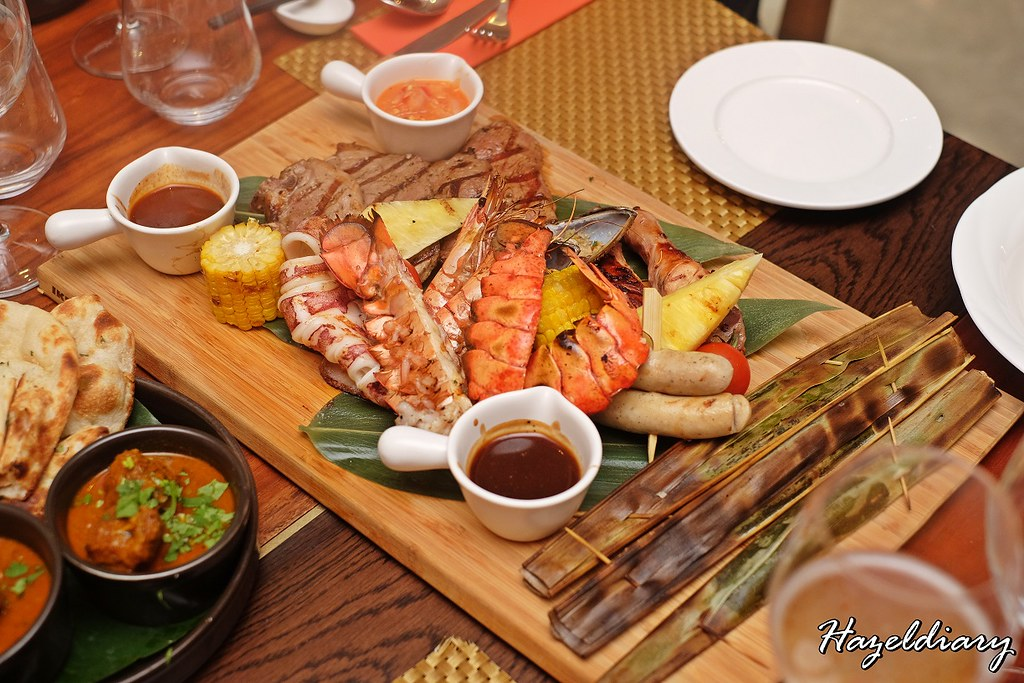 Food Capital At Grand Copthorne Waterfront Hotel-BBQ Seafood and meat