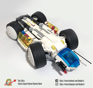 Classic Space/Futuron Flipover Rover